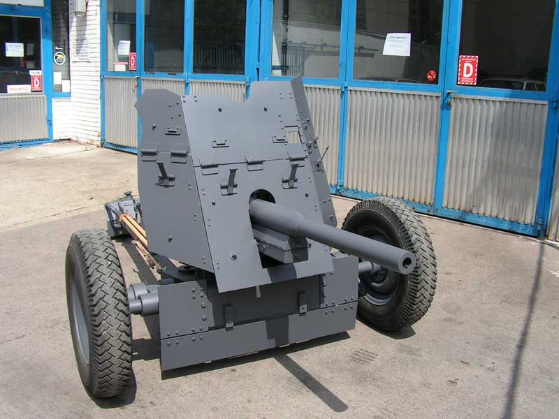 German 50 Mm Anti Tank Gun: For Sale: Replica Pak 36 German WWII 37mm Anti Tank Gun. A