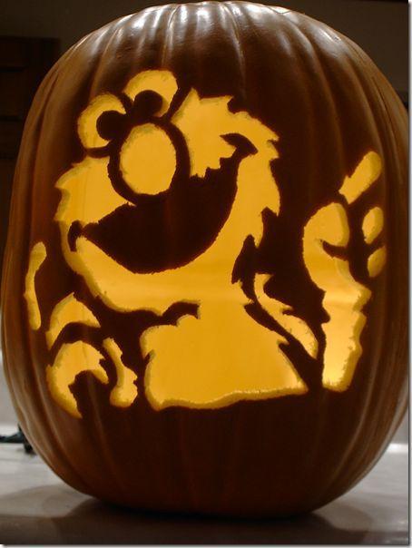 Sesame Street Pumpkin Carvings