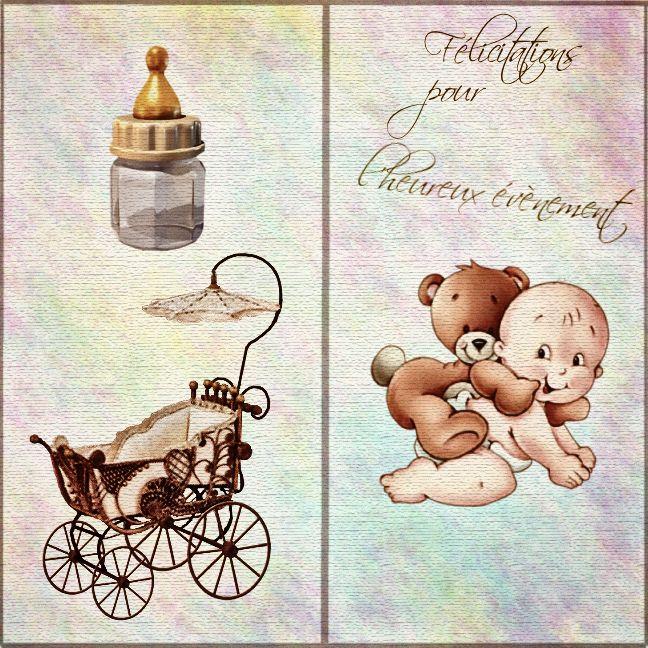 Préférence Carte félicitations naissance gratuite à imprimer. | cartes  OR97