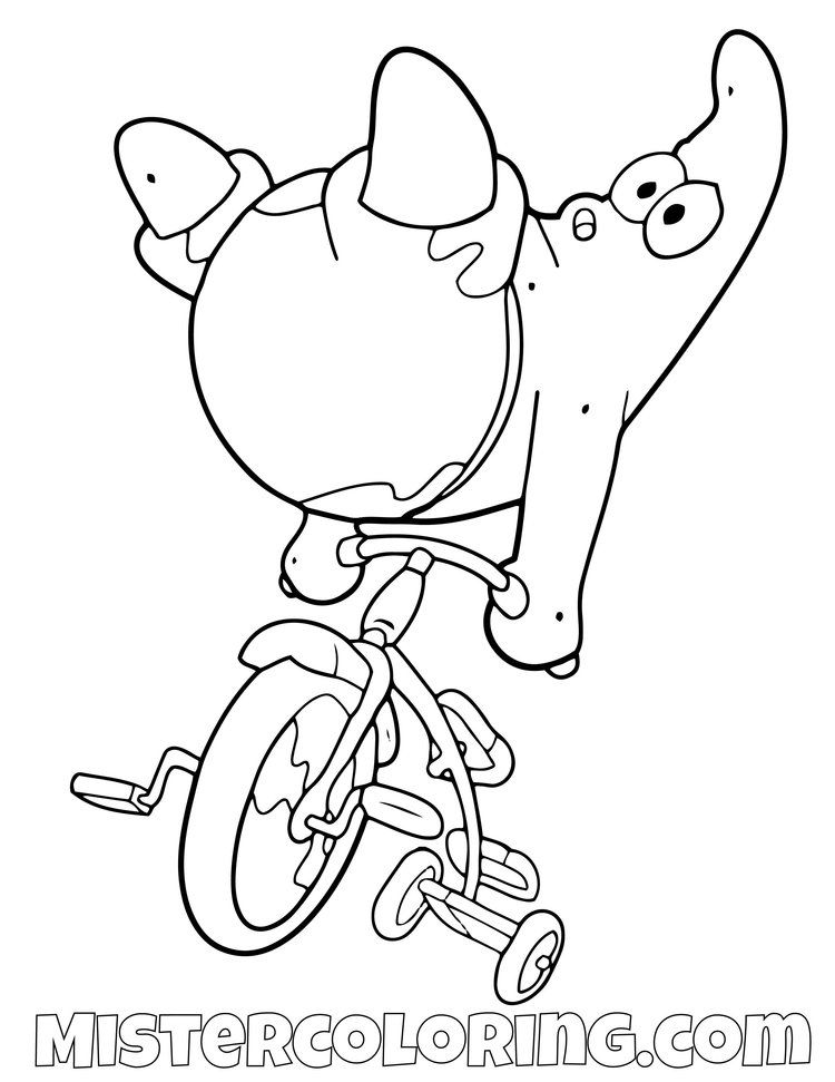 Patrick Star Coloring Pages - GetColoringPages.com | 971x750
