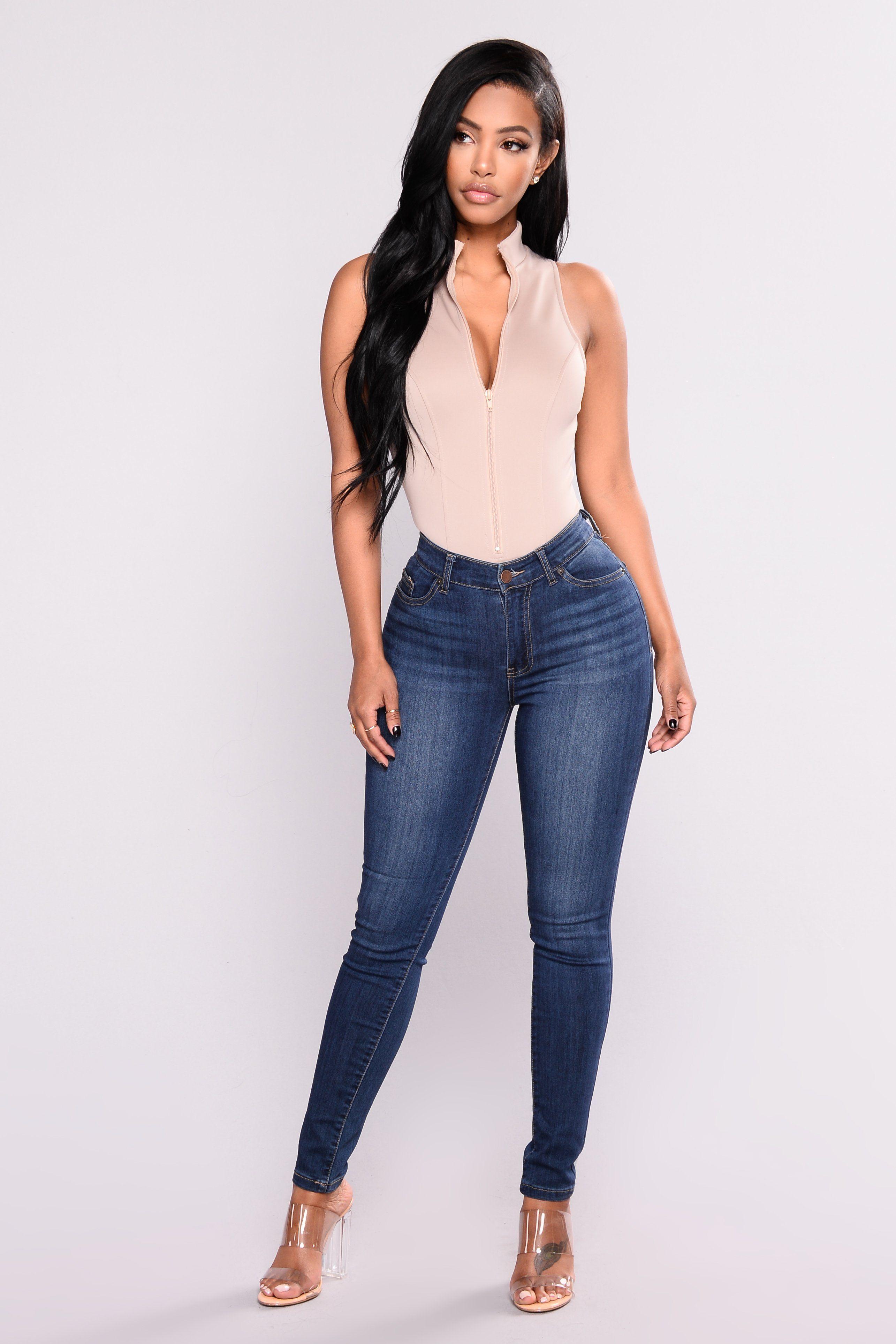 dbef09894 Ezra Skinny Jeans - Dark in 2019 | fashionnova | Skinny jeans, Jeans ...