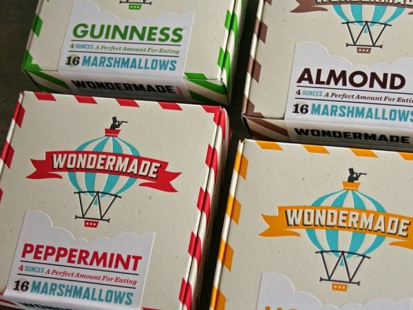 Heads of State: Wondermade Marshmallow Packaging