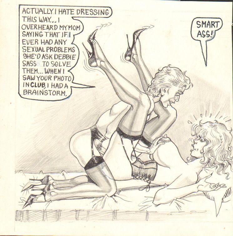 adult cartoon sass debbie
