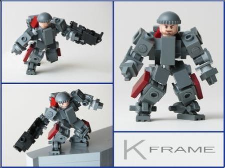 LEGO] Robot Armor Things