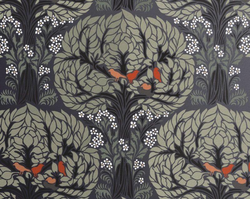 Stencil Art For Walls tree pattern stencil for walls - art nouveau tree pattern with