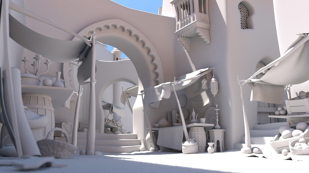 Blender Architektur Rendering Pin By Weep Lin On 3d場景 Concept Models Architecture