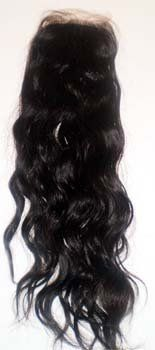 """Tre Chic Silk Based Closure Naturally Wavy Virgin Natural Indian Hair Piece For Weaves And Weft Hair Extension by Couture Chic. $160.00. Silk based closure hairpiece 3.5""""x4'' 16inches long. Can be curled or straightened. Virgin Natural Indian hair natural wave. Naturally Wavy. Couture Chic Silk Base closures are crafted with the best silk base materials available in the market and they truly undetectable when installed. The hair piece is 16""""long of India origin and has not been p..."""