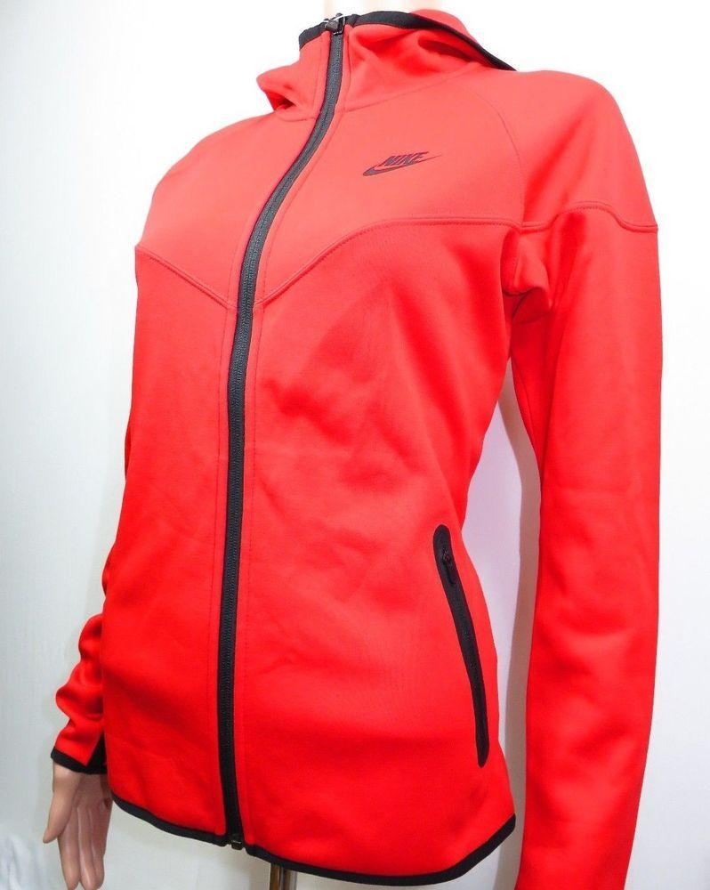 Nike Tech Fleece Windrunner Hoodie Women s Size Medium Red 545691 600  Jakcet  Nike  CoatsJackets 364e12dad7