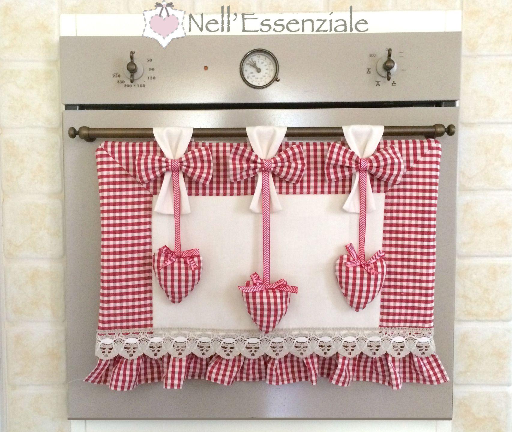 Set copri forno e copri fornelli arredamento d 39 interni for Copriforno in stoffa