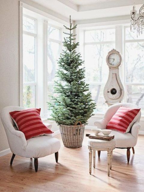 Christmas Trees For Small Apartments.44 Space Saving Christmas Trees For Small Spaces Digsdigs