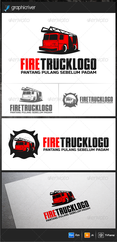 Fire Truck Logo Templates (Dengan gambar)