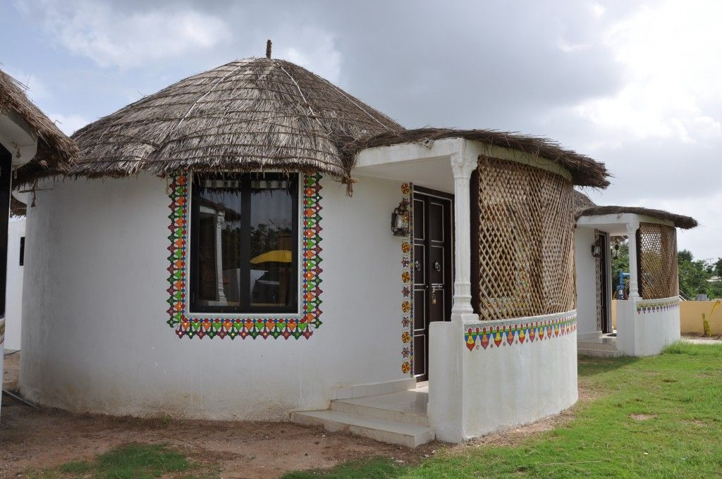 Modern mud houses in india