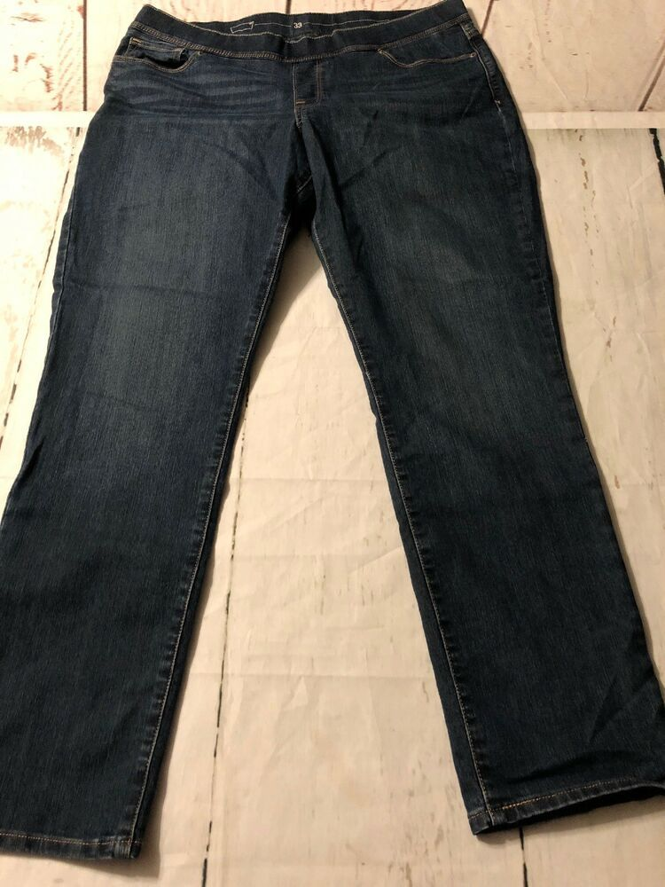 41d30ff4768d Levi's Women's Jeans Pull Up Stretch Ankle Slim Straight #jeans Size 33 X  29 #Levis #Skinny