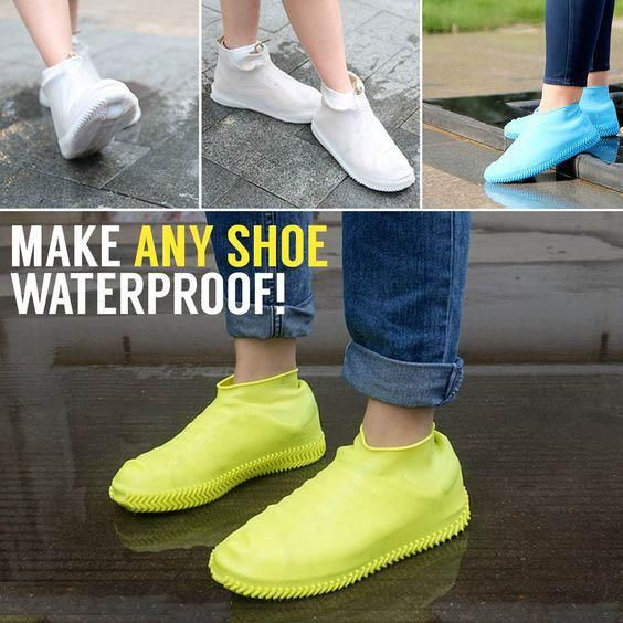 Waterproof shoes, Shoe covers
