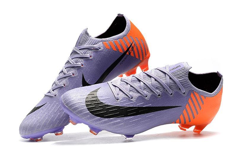 Nike Copa Mundial Botas Mercurial Vapor XII Elite 360 FG - Violeta Naranja  Negro 861461235bf35