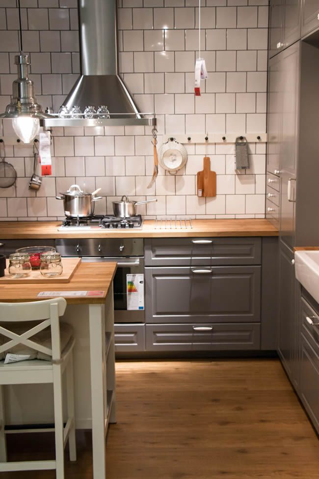 Ikea Kuche Metod Kitchen Cabin Kitchens Kitchen House
