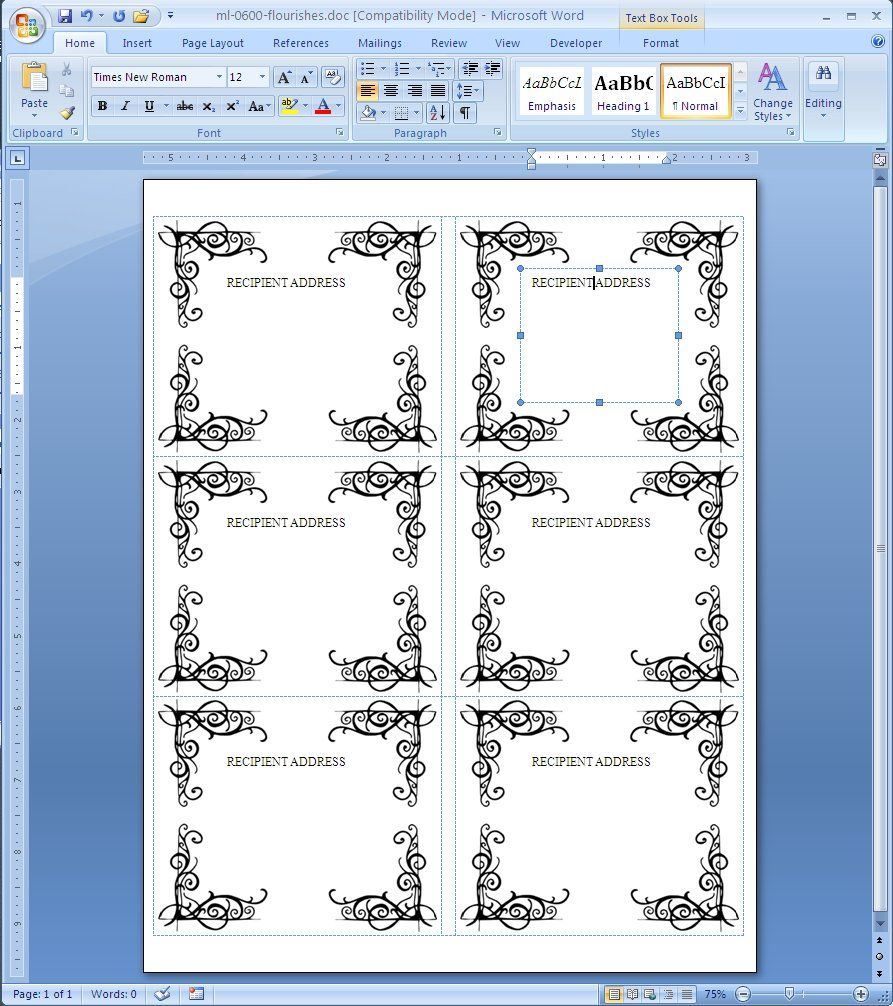 free label template for word avery label templates microsoft word