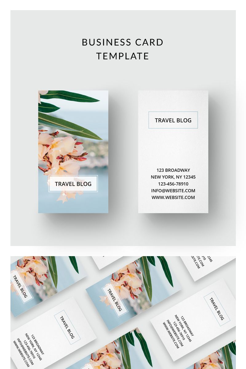 Traveling Business Card Corporate Identity Template Card Busines Business Cards Corporate Identity Business Cards Creative Templates Business Cards Creative