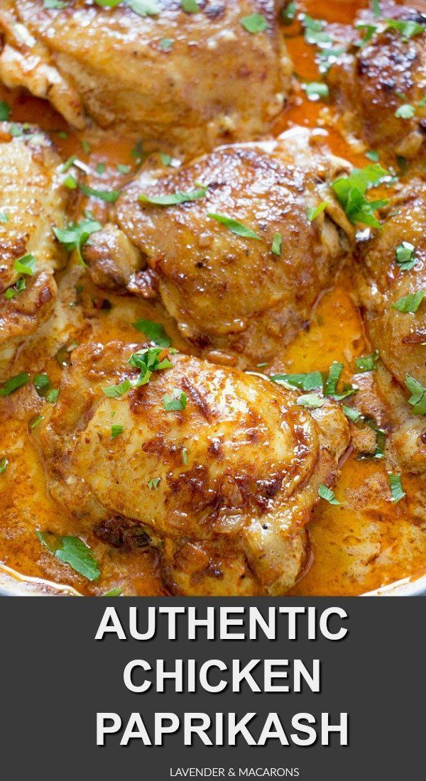 Hungarian Chicken Paprikash images