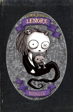 Lenore the Cute Little Dead Girl (pssst... she's got eyeballs like Bowie!)