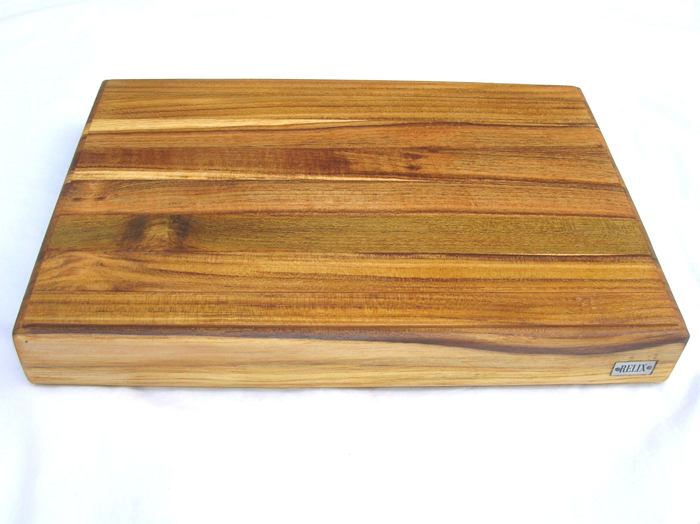 Relix Teak02 Cutting Board Wooden