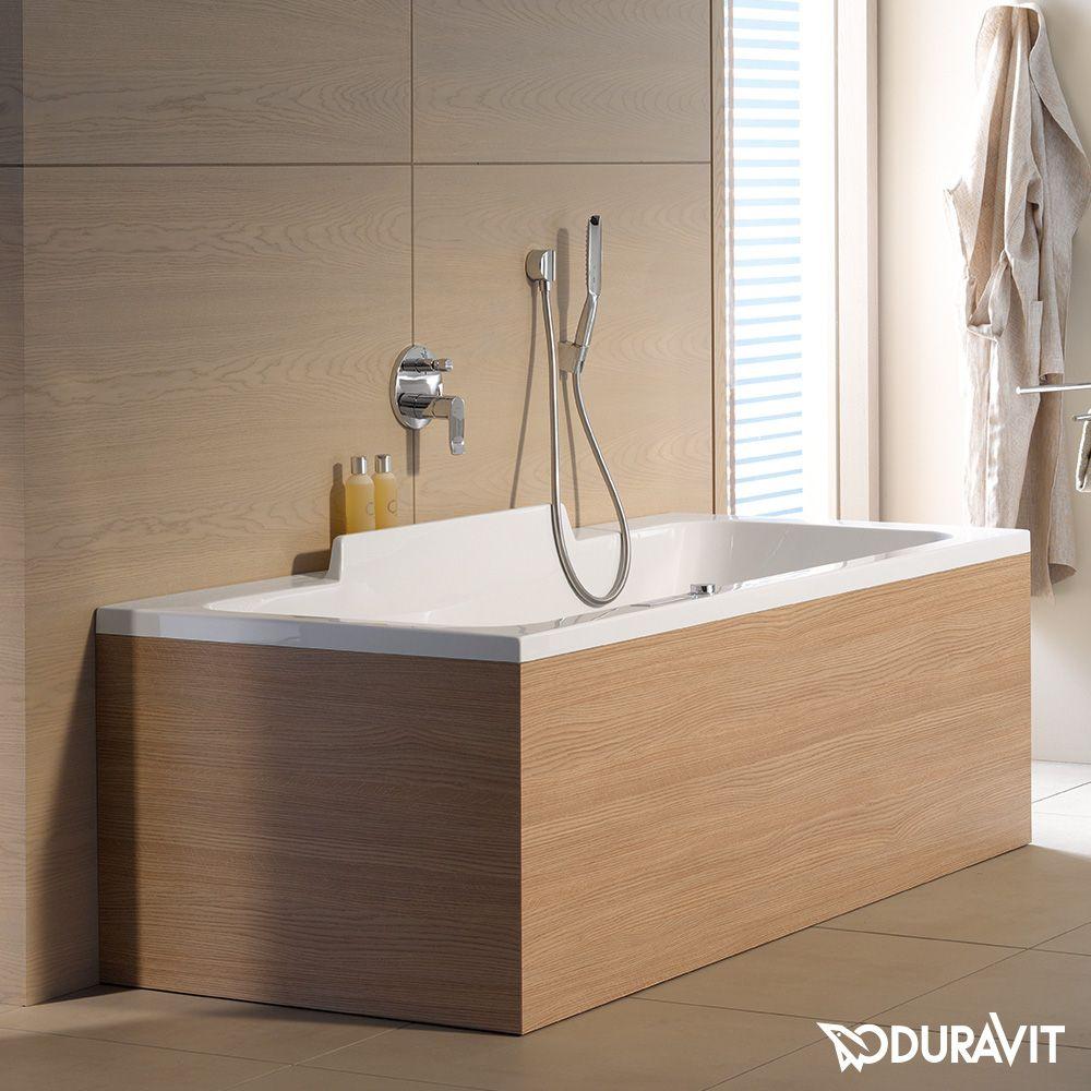 Duravit Durastyle Rechteck Badewanne Mit Zwei Ruckenschragen 700299000000000 Duravit Badewanne Wanne