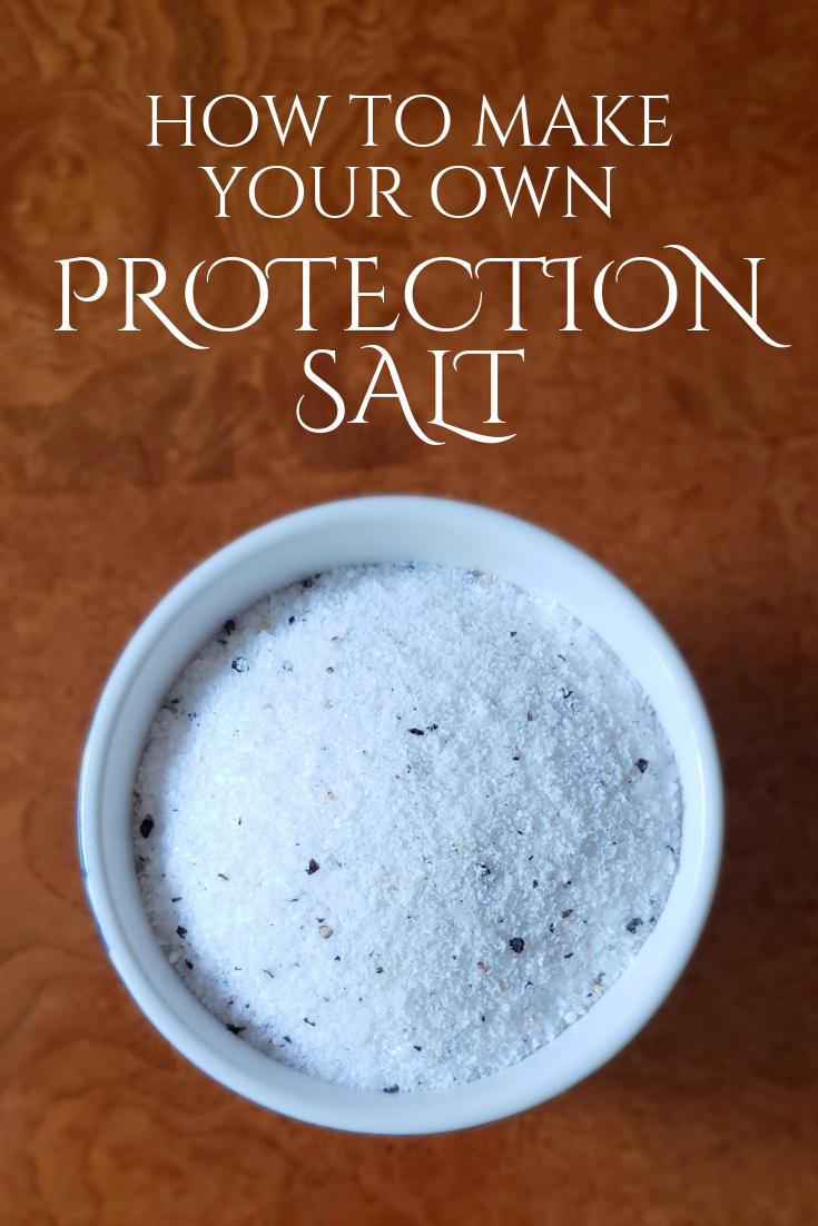 How To Make Your Own Protection Salt Kajora Lovely In 2021 Herbal Magic Herbalism Spells Witchcraft