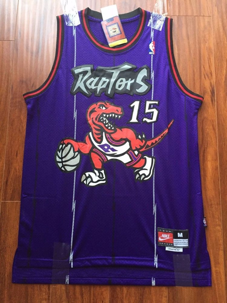huge selection of e511d 1a022 Vince Carter Jersey # 15 Nike NBA Toronto Raptors Hardwood ...