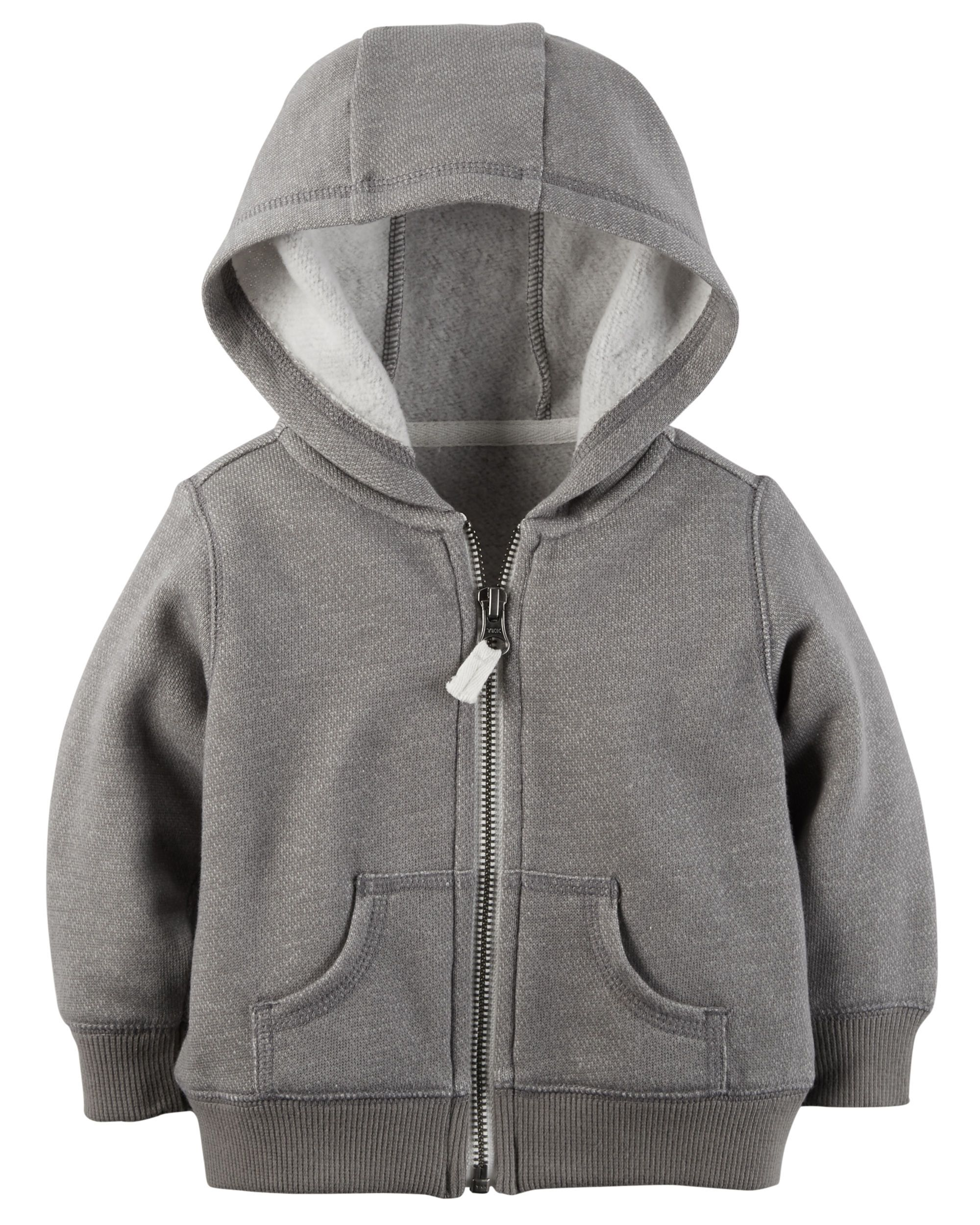 Baby Boy French Terry Zip-Up Hoodie | Carters.com