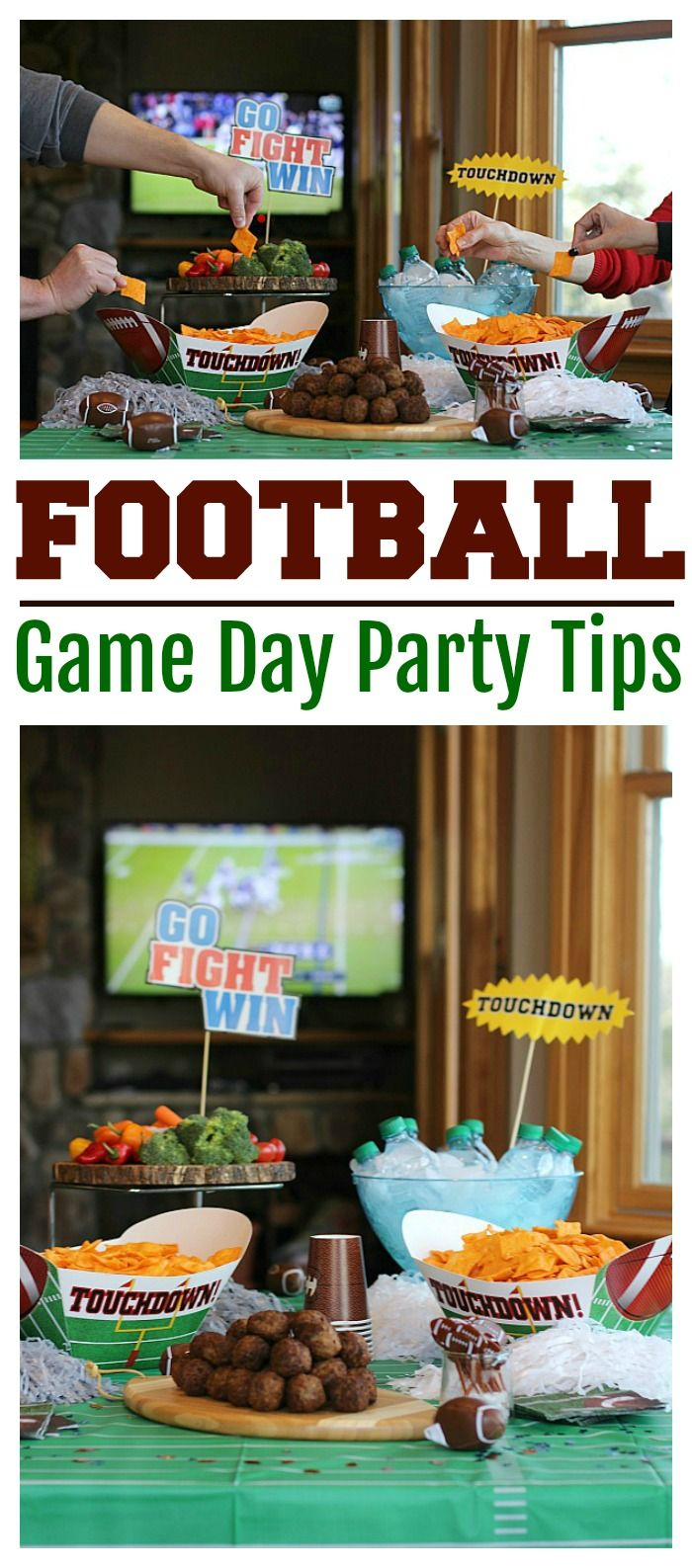 Football Game Day Party Tips (With images) Game day