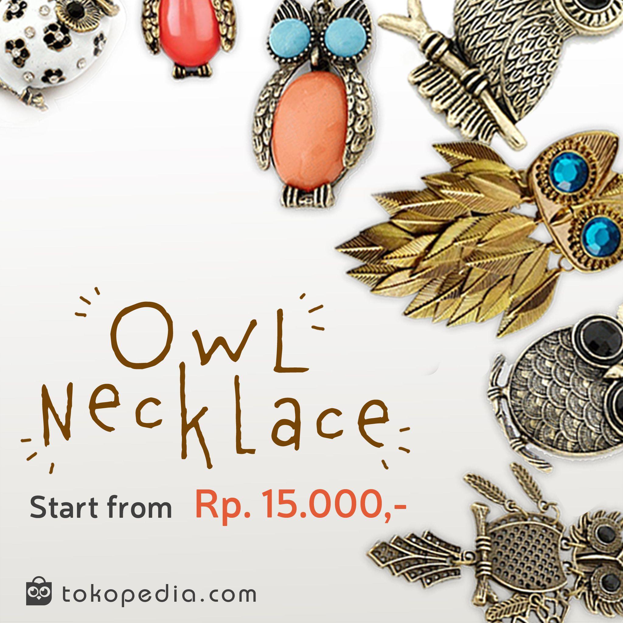 Beli Kalung Owl Yuk Kalung Model Vintage Dan Classy Ini Bisa