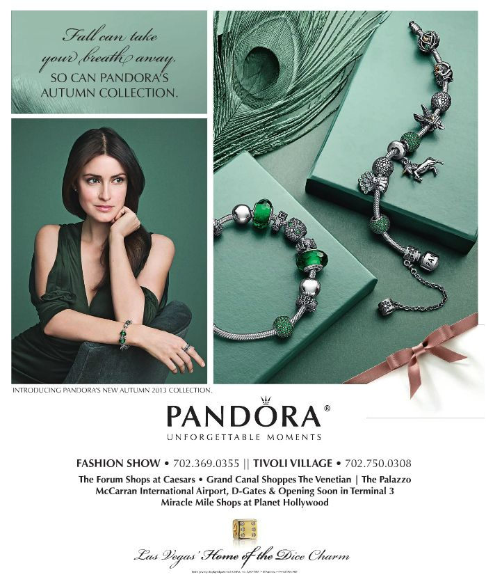 pandora layout emerald/product photography