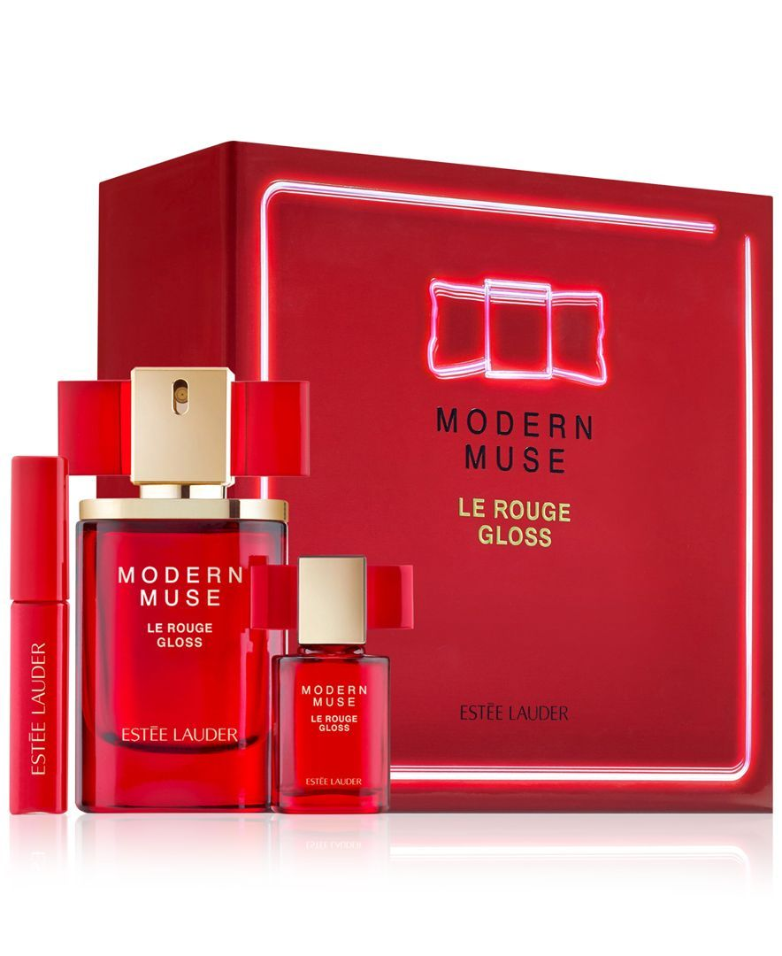 Estee Lauder Modern Muse Le Rouge Gloss Set Reviews Beauty Gift Sets Beauty Macy S Estee Lauder Modern Muse Modern Muse Le Rouge Gloss Modern Muse