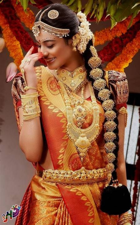 Nice Traditional South Indian Wedding Dress 2018