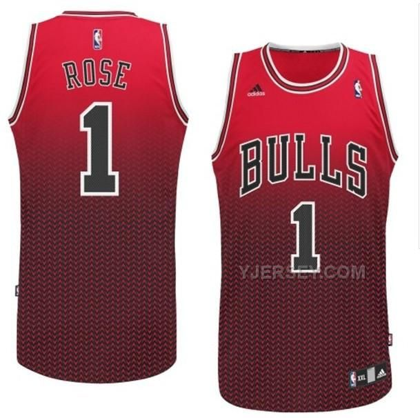 3b669e762df Chicago Bulls 1 Derrick Rose RedBlack Resonate Fashion Jersey Find this Pin  and more on Chicago Bulls. Buy NBA Chicago Bulls 1 Rose Red ...