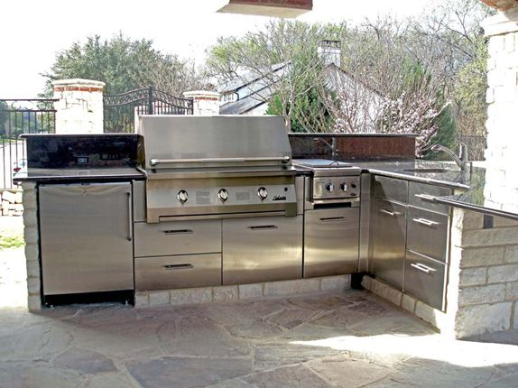 Gallery Stainless Steel Cabinets For Indoor And Outdoor Kitchens By Danver They Offer Powder Coat Finishes To Beautify Protect The
