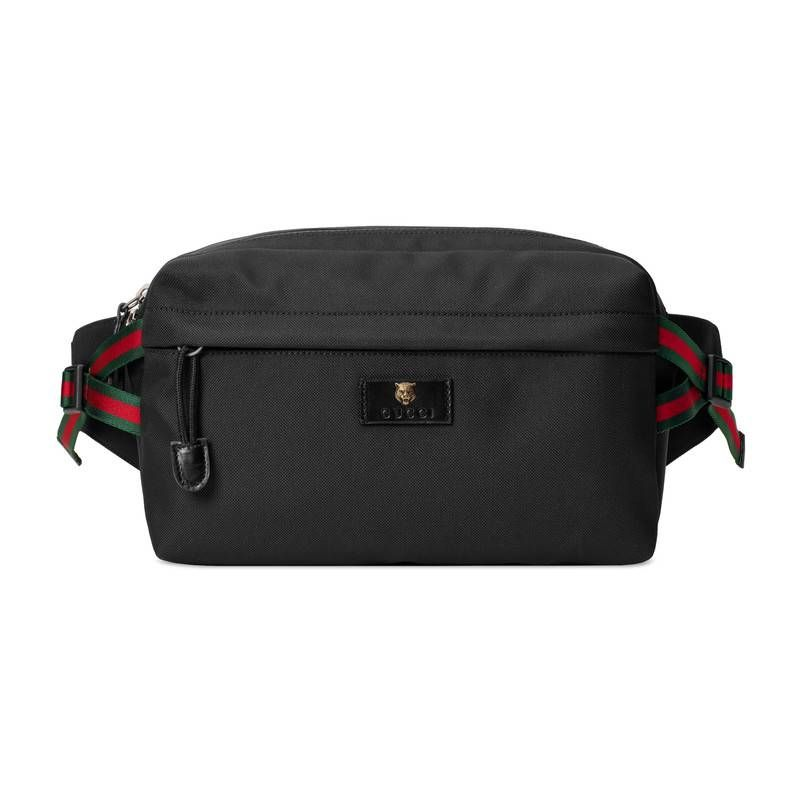 183656556a4d GUCCI EXCLUSIVE TECHPACK BELT BAG WITH WEB. #gucci #bags #leather #belt
