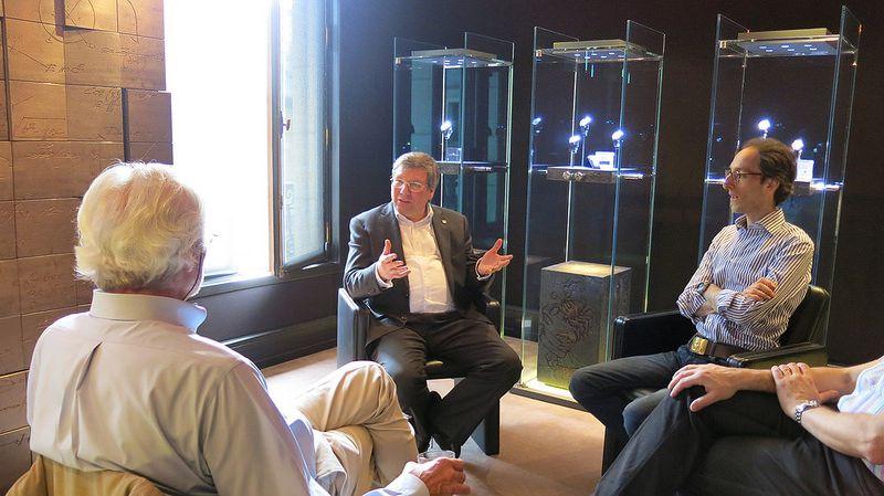 Andreas Strehler se livre, dialogue et s'expose