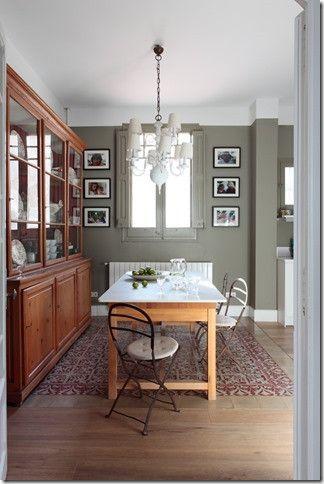Baldosa y madera | cocina americana | Pinterest | Baldosa, Madera y ...