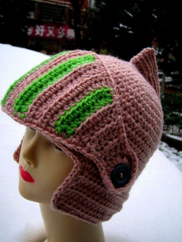 HAT, with Face Guard. | gorros | Pinterest | Gorros, Cosas para ...