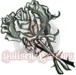 Roses at BullseyeTattoos.com