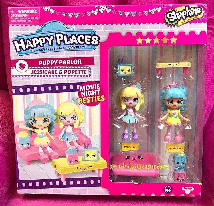 Kutie Pies Shopkins Happy Places Shopkins Shoppies Dolls