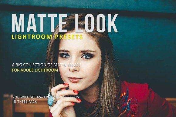 Matte look lightroom