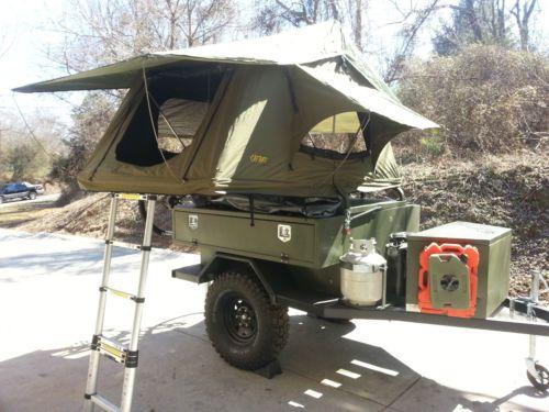 Off Road C&ing Trailer Roof Top Tent | eBay & Off road camping trailer / roof top tent | Fantastisk Telte og eBay