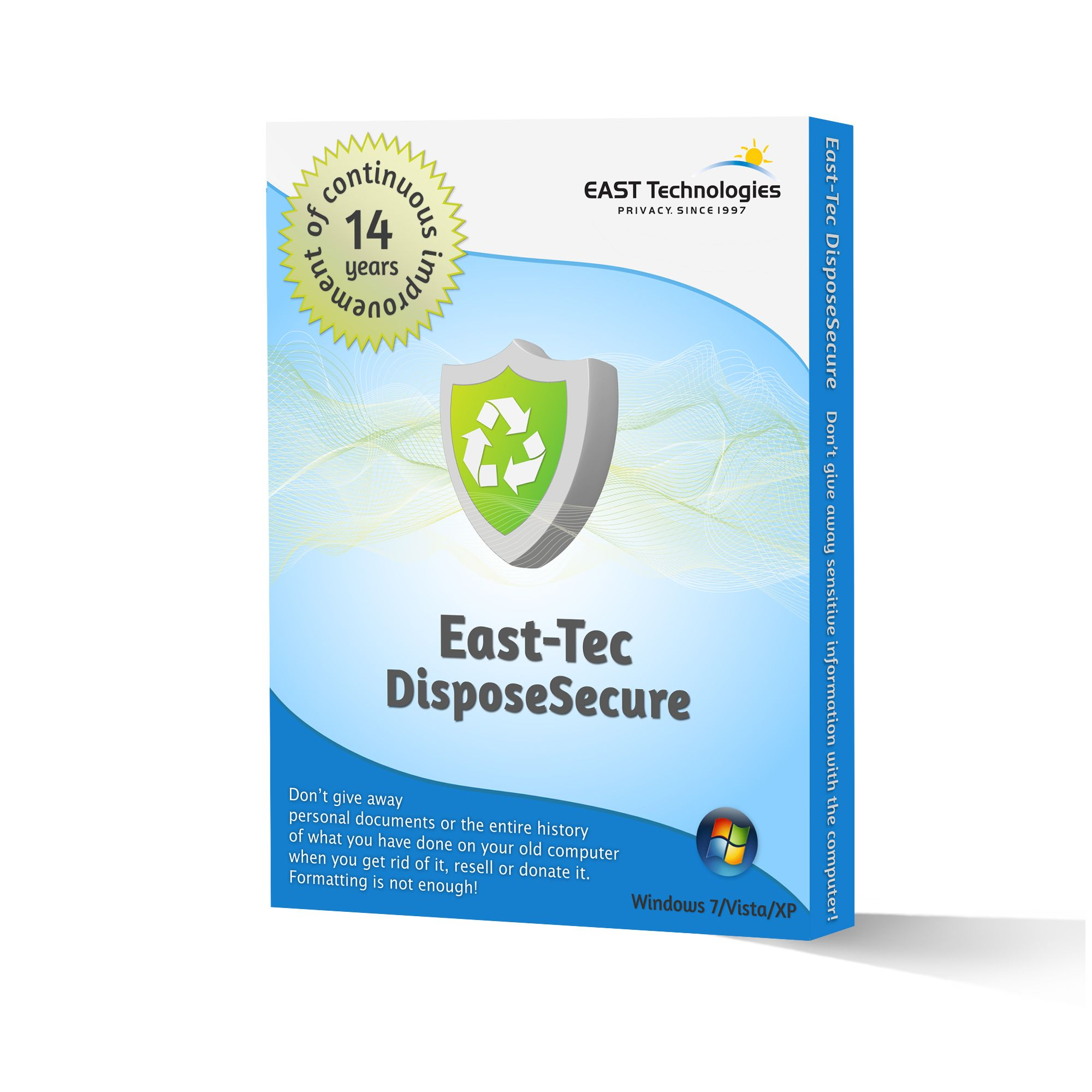 East-Tec DisposeSecure 4.2 serial key or number