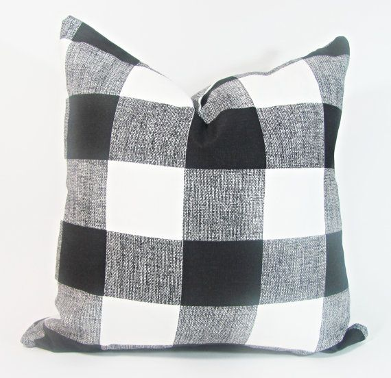 Awesome Black Pillow Black Checker Pillow Black And White Pillow Ibusinesslaw Wood Chair Design Ideas Ibusinesslaworg