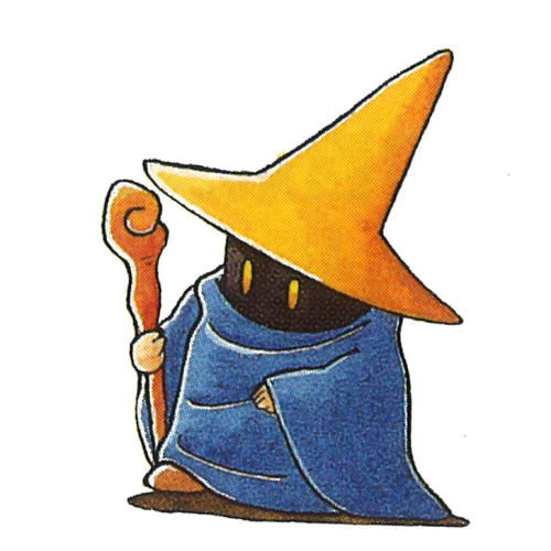 The Black Mage From Final Fantasy Iv The Video Game Art