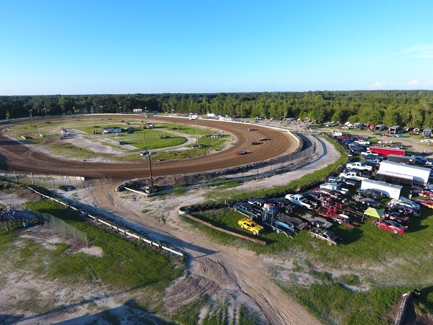 North Florida Speedway Dirt Track For Sale Dirt Track Speedway Racing Race Night