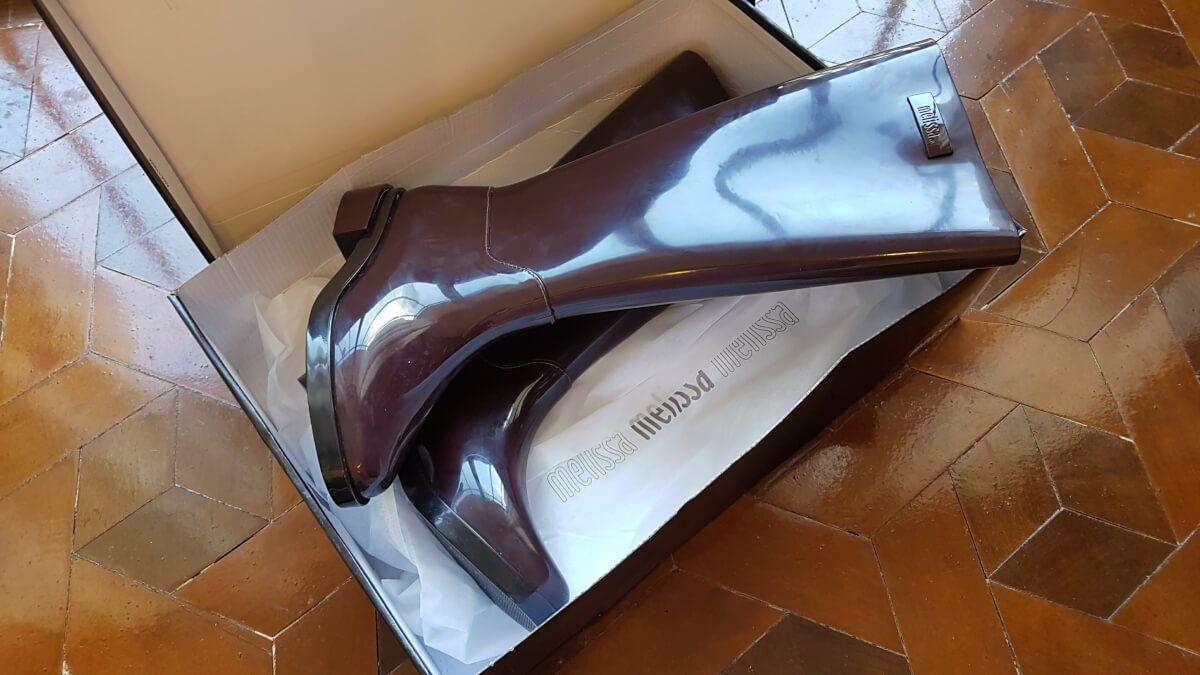 c94c51891 Comprei finalmente a bota da Melissa própria para chuva, frio e neve! Fazia  tempão