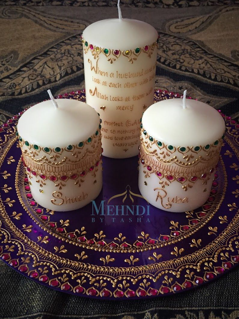 50 tealight Mehndi candles gift henna Christmas Diwali Eid Birthday Party Favour